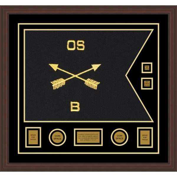 "Special Forces Version 2 28"" x 20"" Guidon Design 2820-D3-M6"
