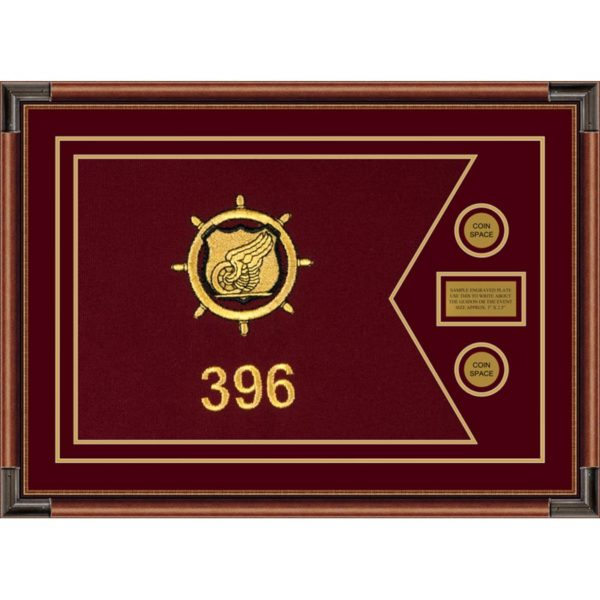 "Transportation 28"" x 20"" Guidon Design 2820-D1-M4"