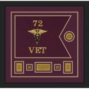 "Veterinary Corps 20"" x 15"" Guidon Design 2015-D1-M5"