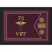 "Veterinary Corps 28"" x 20"" Guidon Design 2820-D1-M5"