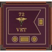 "Veterinary Corps 20"" x 15"" Guidon Design 2015-D2-M4"