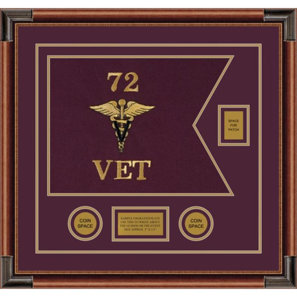 "Veterinary Corps 20"" x 15"" Guidon Design 2015-D2-M4"