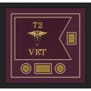 "Veterinary Corps 20"" x 15"" Guidon Design 2015-D2-M5"