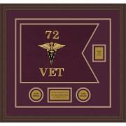 "Veterinary Corps 20"" x 15"" Guidon Design 2015-D2-M6"