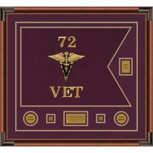 "Veterinary Corps 28"" x 20"" Guidon Design 2820-D2-M4"