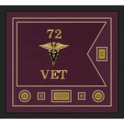 "Veterinary Corps 28"" x 20"" Guidon Design 2820-D2-M5"