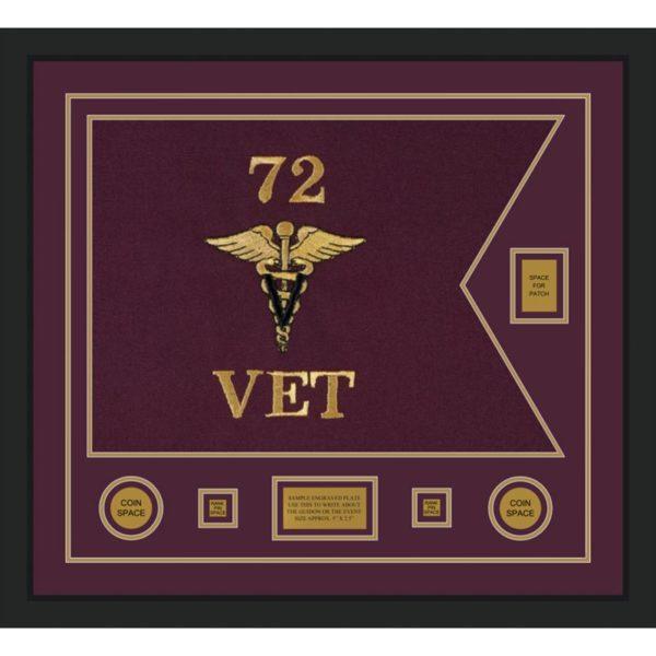 "Veterinary Corps 28"" x 20"" Guidon Design 2820-D2-M5"