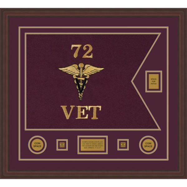 "Veterinary Corps 28"" x 20"" Guidon Design 2820-D2-M6"