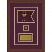 "Veterinary Corps 7"" x 5"" Guidon Design 75-D2-M3"