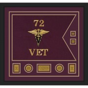 "Veterinary Corps 28"" x 20"" Guidon Design 2820-D3-M5"