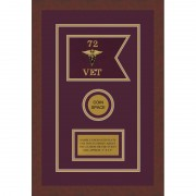 "Veterinary Corps 7"" x 5"" Guidon Design 75-D3-M3"