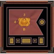 """Warrant Officer 20"""" x 15"""" Guidon Design 2015-D1-M4"""