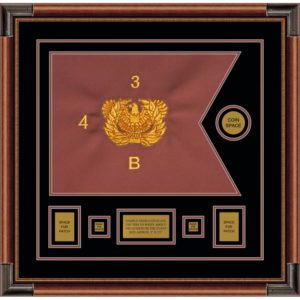 "Warrant Officer 20"" x 15"" Guidon Design 2015-D1-M4"