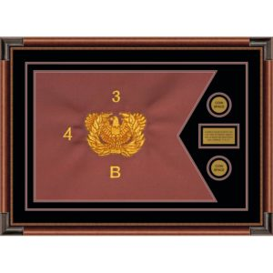 "Warrant Officer 28"" x 20"" Guidon Design 2820-D1-M4"