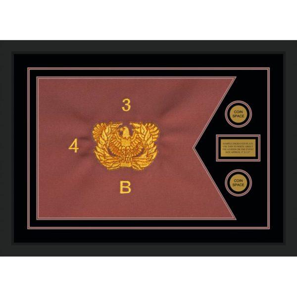 """Warrant Officer 28"""" x 20"""" Guidon Design 2820-D1-M5"""