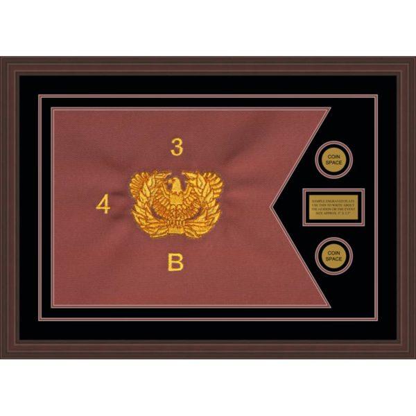 """Warrant Officer 28"""" x 20"""" Guidon Design 2820-D1-M6"""