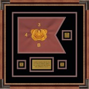 "Warrant Officer 12"" x 9"" Guidon Design 129-D2-M1"