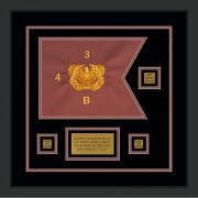 "Warrant Officer 12"" x 9"" Guidon Design 129-D2-M2"