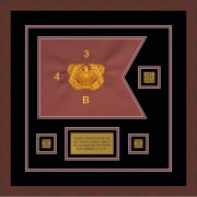 "Warrant Officer 12"" x 9"" Guidon Design 129-D2-M3"