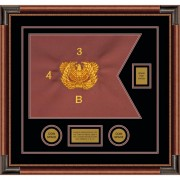 "Warrant Officer 20"" x 15"" Guidon Design 2015-D2-M4"