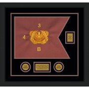"Warrant Officer 20"" x 15"" Guidon Design 2015-D2-M5"