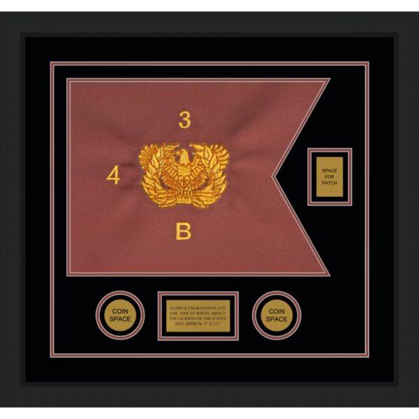 """Warrant Officer 20"""" x 15"""" Guidon Design 2015-D2-M5"""