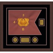 "Warrant Officer 20"" x 15"" Guidon Design 2015-D2-M6"