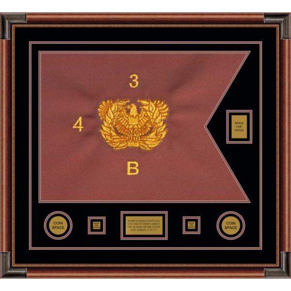 """Warrant Officer 28"""" x 20"""" Guidon Design 2820-D2-M4"""