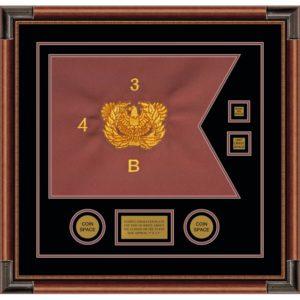 """Warrant Officer 20"""" x 15"""" Guidon Design 2015-D3-M4"""