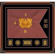 "Warrant Officer 28"" x 20"" Guidon Design 2820-D3-M4"