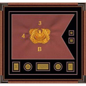 """Warrant Officer 28"""" x 20"""" Guidon Design 2820-D3-M4"""