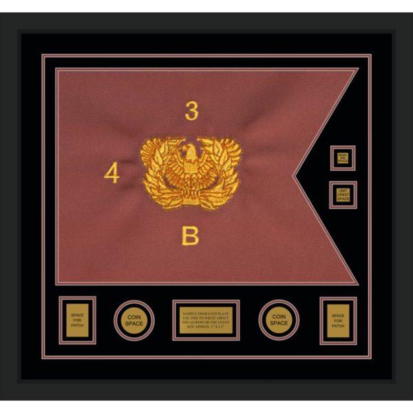 """Warrant Officer 28"""" x 20"""" Guidon Design 2820-D3-M5"""