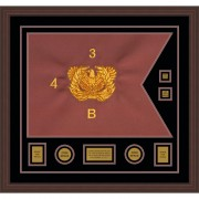 "Warrant Officer 28"" x 20"" Guidon Design 2820-D3-M6"