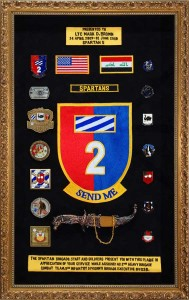 2nd Brigade Combat Team, 3rd ID Military Shadow Box