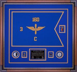 3rd Battalion, 160th Special Operations Aviation Regiment (Night Stalkers) Custom Framed Guidon