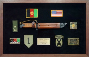 3rd Brigade Combat Team, 10th Mountain Division- Custom Designed and Built Military Shadow Box