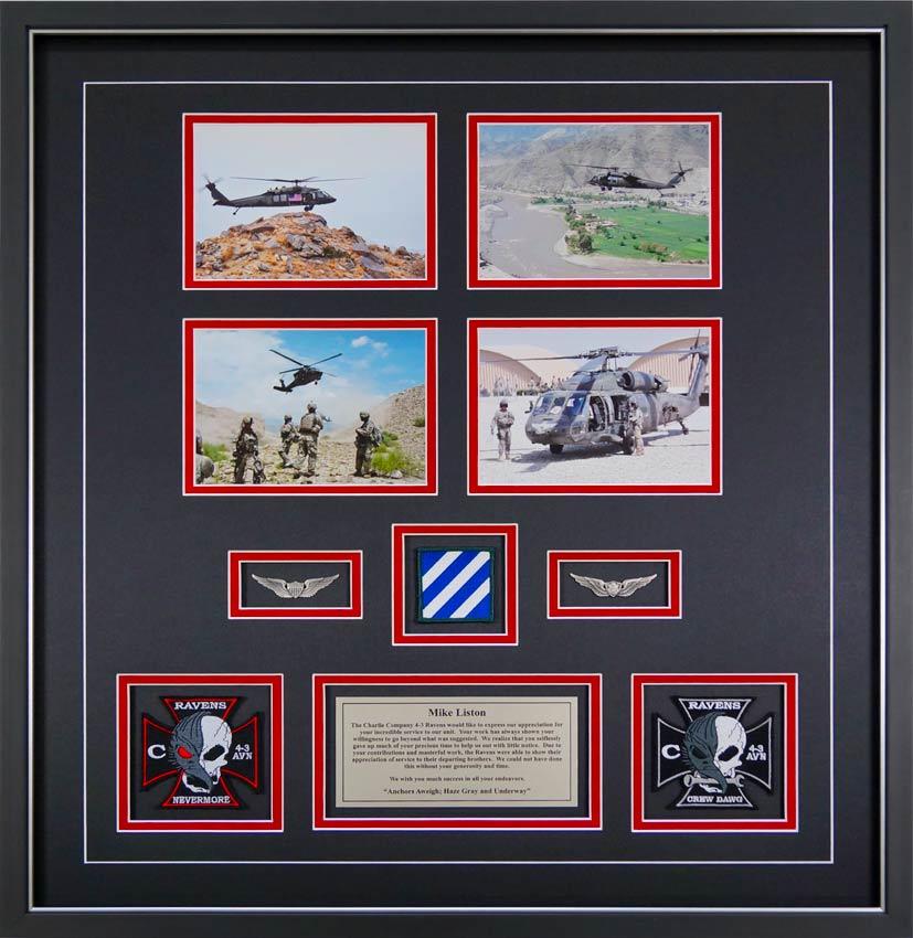 Custom Framed Military Prints And Photos Framed Guidons