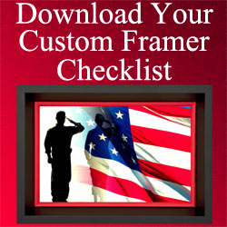 Banner Ad For Custom Framer Checklist