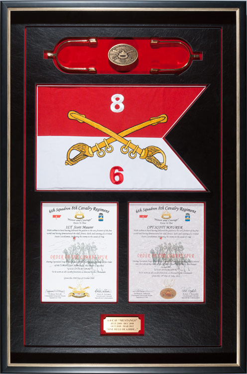 Gallery Framed Guidon Examples Framed Guidons