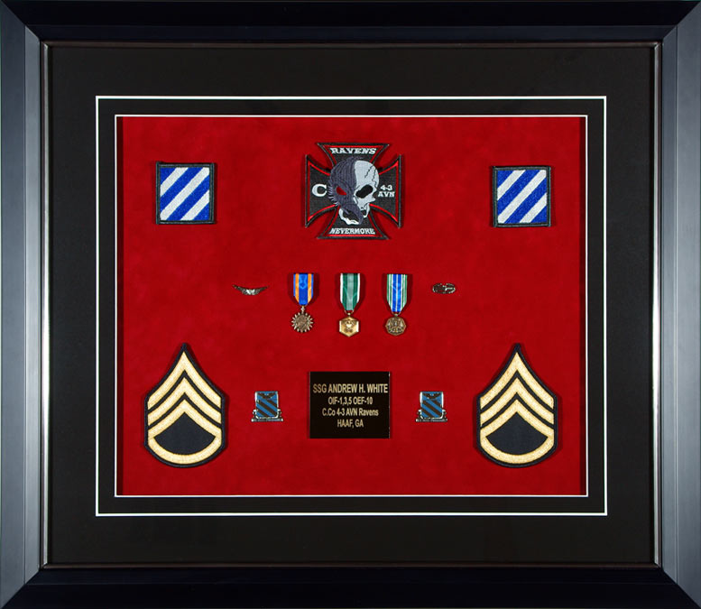 Gallery - Custom Framed Military Medals and Ribbons - Framed